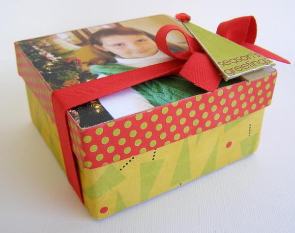 finished gift box
