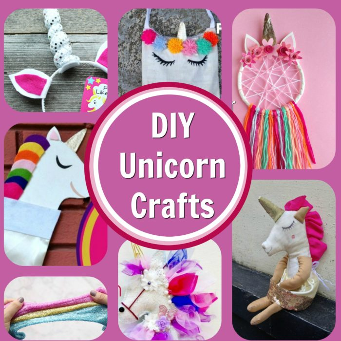 8 Easy And Adoreable Unicorn Craft Project Tutorials The