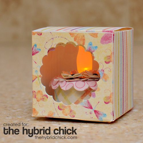 Tealight Candle Cake The Hybrid Chick